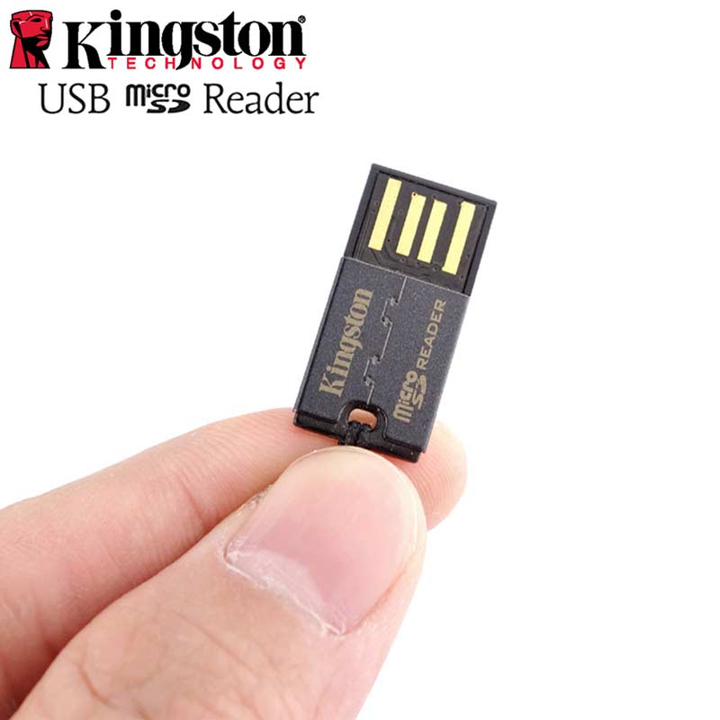 Kingston micro sd card reader Mini cardreader dropship wholesale price external microsdhc/sdxc microsd to usb TF Sd Card reader fffas useful colorful external cardreader mini usb 2 0 card reader for micro sd card tf card for pc mp3 mp4 player adapter 1$