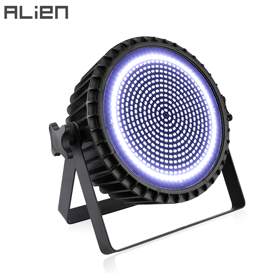 ALIEN 250W LED White Stage Strobe Lighting Effect Bar Club DJ Disco Holiday Party Sound Activated Flash Profession DMX Lights|Stage Lighting Effect| |  - title=