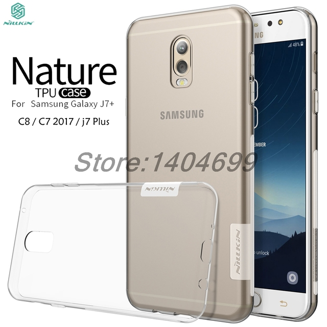 release date 4629e 56409 US $4.74 5% OFF|sFor Samsung Galaxy j7 Plus Case C7 2017 Case Nillkin  Nature Series Back Cover Clear Soft TPU Case For Samsung Galaxy C8-in  Fitted ...