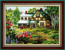 Beautiful Lovely Counted Cross Stitch Kit House Home