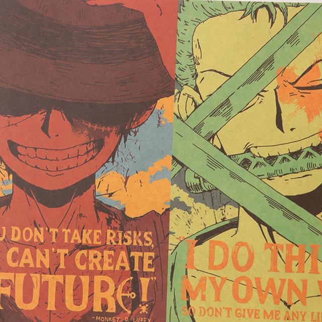 One Piece Piratas de Sombrero de Paja Póster
