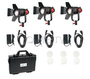 Image 5 - 3 uds. CAME TV Boltzen 30w Fresnel sin ventilador LED enfocable bi color Kit luz Led para vídeo