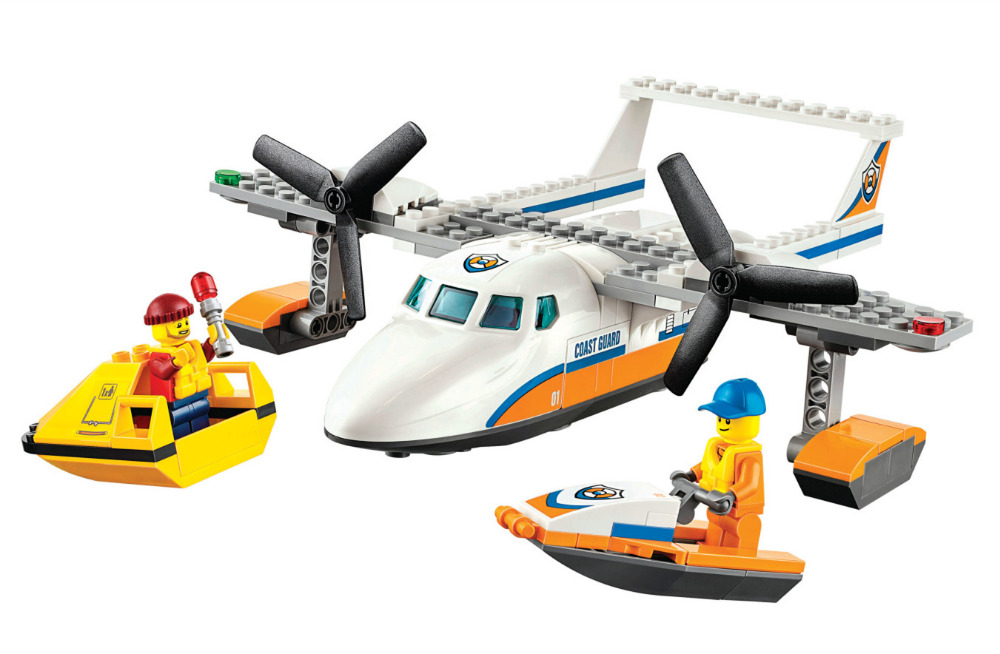 City Sea Rescue Plane BELA Building Blocks Sets Bricks Classic Model Kids Toys For Children Gift Compatible Legoe lepin city town city square building blocks sets bricks kids model kids toys for children marvel compatible legoe