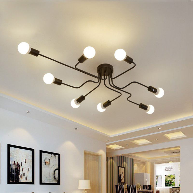 Modern LED Ceiling Chandelier Lighting Living Room Bedroom Chandeliers Creative Home Lighting Fixtures Free Shipping