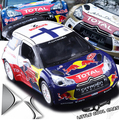 Новые происхождение 1:26 Citroen C4 DS3 WRC автомобиль модели Гонки детские игрушки вытяните назад звук и свет спортивный автомобиль мальчик подарок с подставкой свободная перевозка груза