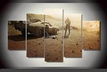 Artistic originality Indoor Decor 20x35cmx2,20x45cmx2,20x55cm Mad Max print poster canvas in 5 pieces