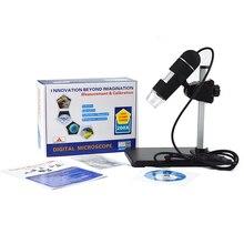 200x Зум 5-МП с Высоким Разрешением USB Цифровой Микроскоп Портативный Мини 8 LED Эндоскопа Камерой для Win 7/XP/2000/Vista Новогодний Подарок