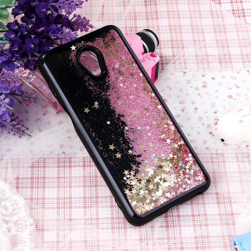 Black Liquid Quicksand Case For Meizu 1