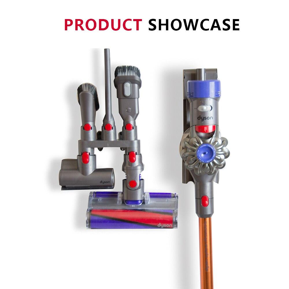 Аксессуары для хранения оборудования полка для Dyson V7 V8 V10 абсолютное Brush Tool сопла подставка пылесос Запчасти