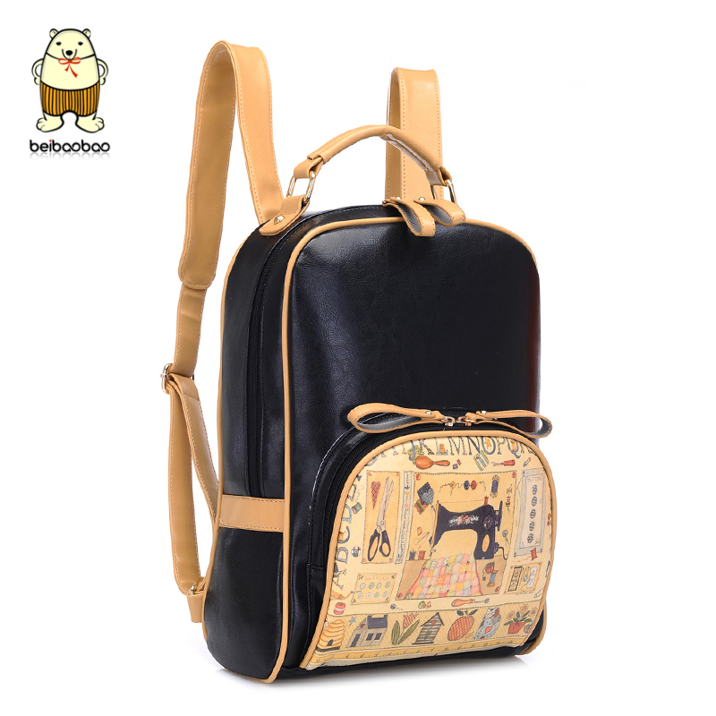Aliexpress.com : Buy Korean style fashion bookbag women printing ...