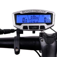 Buy HobbyLane  Wired SD 558A Bicycle Speedometer Wireless Waterproof Bicycle Odometer Bicycle Functional LCD Display Odometer Timer directly from merchant!