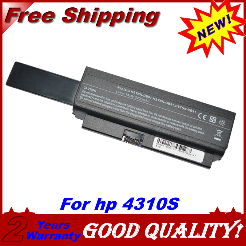 JIGU Batterie D'ordinateur Portable Pour HP ProBook 4310 s 4210 s 4311 s HSTNN-DB91 HSTNN-OB91 HSTNN-XB91 5200 mah 14.4 v