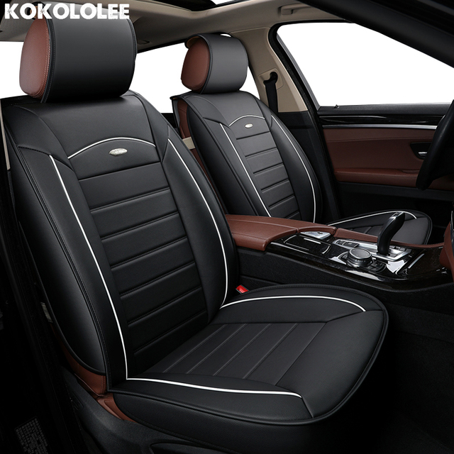 Kokololee Pu Leather Car Seat Covers Set For Alfa 147 Camry 50 Astra H