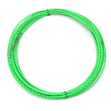 цена на 5m/10m/15m/20m/25m/30m Cable Puller Electrical Wire Fish Tape Dia6mm Wire Cable Puller  for Conduit Ducting Rodder Wire Guide