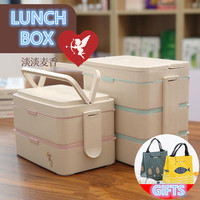 Fashion Novel Cartoon Lunch Box Microwave Thermos Flask Bento Container for Food Plastic Table Ware Lunch Box Picnic School