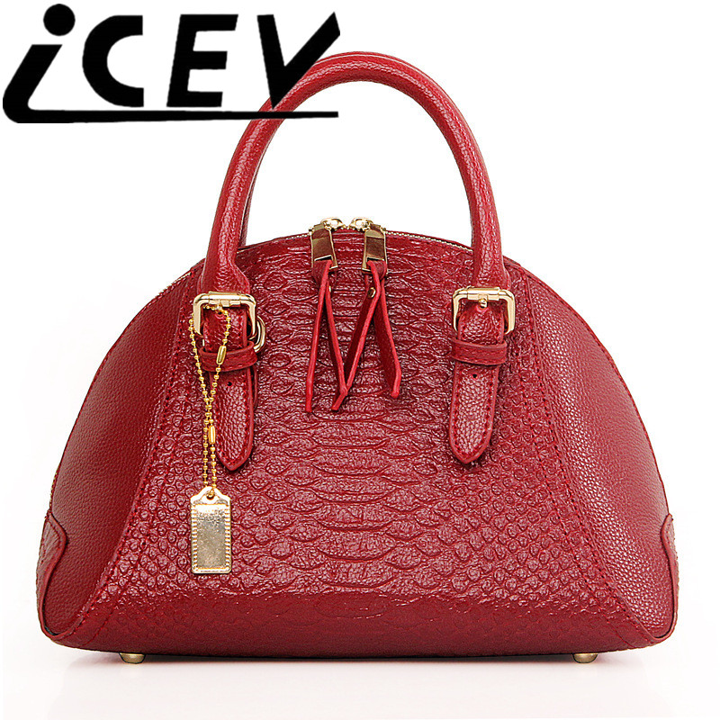 ФОТО 2016 luxury handbags women bags designer high quality women leather handabg messenger bag serpentine shell bag bolsa feminina