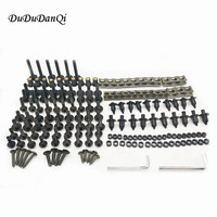 Universal accessories Motorcycle Screws Pike Bolts nut Fairing FOR YAMAHA R6S EUROPE VERSION YZF R1 R1M FAZER600 FZX700