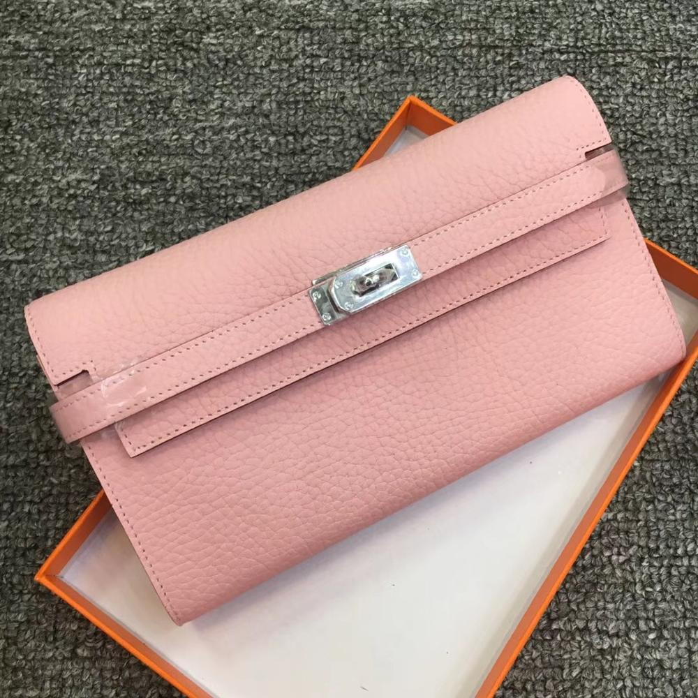 Kafunila 100% Genuine Leather Women's Wallet Luxury Handbags Women Bags Designer Ladies Small Purse Clutch Card Holder Money Bag