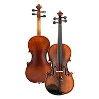 High class violin handwork solid wood level examination children's adult violin,basic introduction series violin instrument