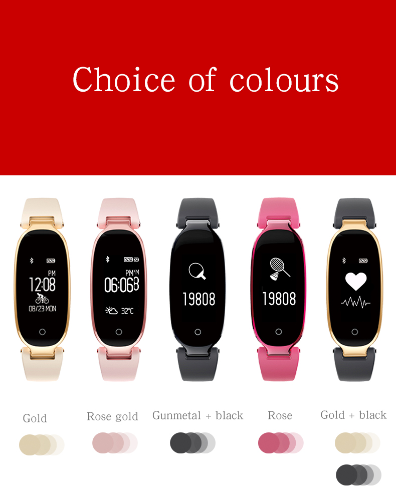 Soprt S3 Smart Watch Women Smart Bracelet Watches Bluetooth Heart Rate Monitor Fitness Tracker For Android IOS Clock reloj mujer 13