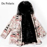 real fur parka Real natural coat natural jacket winter women Long hooded parka with real fur mink fur coat mink