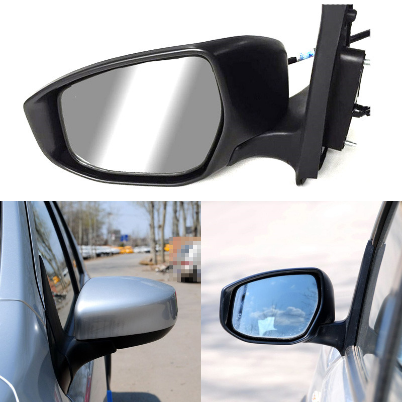 Automatic Folding Power Heated Original Replacement Side View Mirror For Nissan Livina 2013 2014