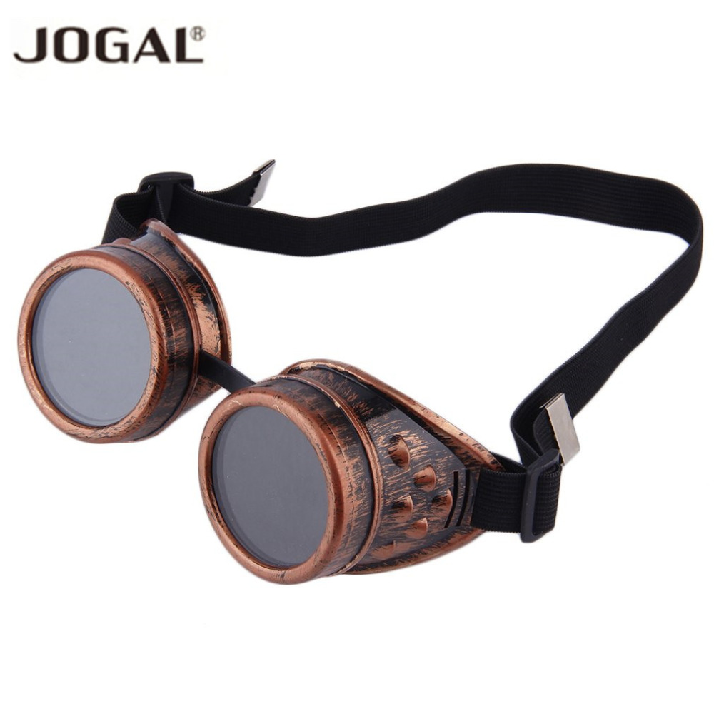 Unisex Retro Sunglasses Cyber Goggles Steampunk Goggles Glasses Welding Punk Gothic Eyewear Glasses Cosplay Vintage Art 4 Colors(China)