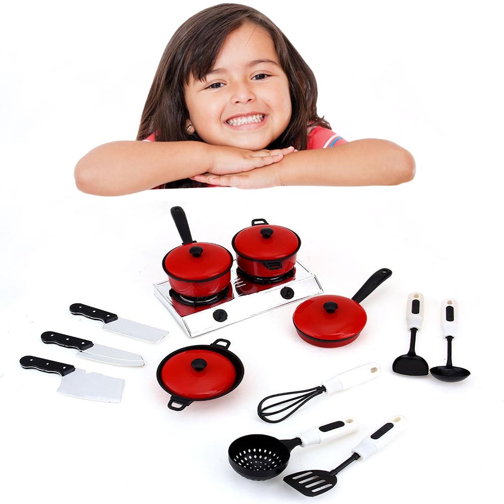 Pop Kid Juguete Jugar A Las Casitas Utensilios De Cocina