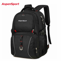 Aspensport Business Laptop Backpack 15 6 Inch Bags Fashion Sport College Outdoor Travel Laptop Backpack