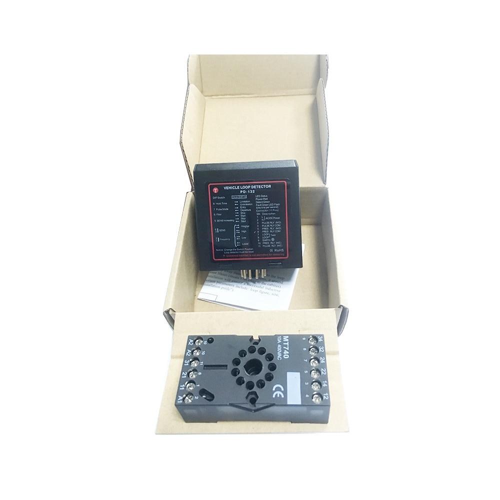 12v/24v/110v/220v AC/DC Ground Sensors Traffic Inductive Loop Vehicle Detector Signal Control glukhar v