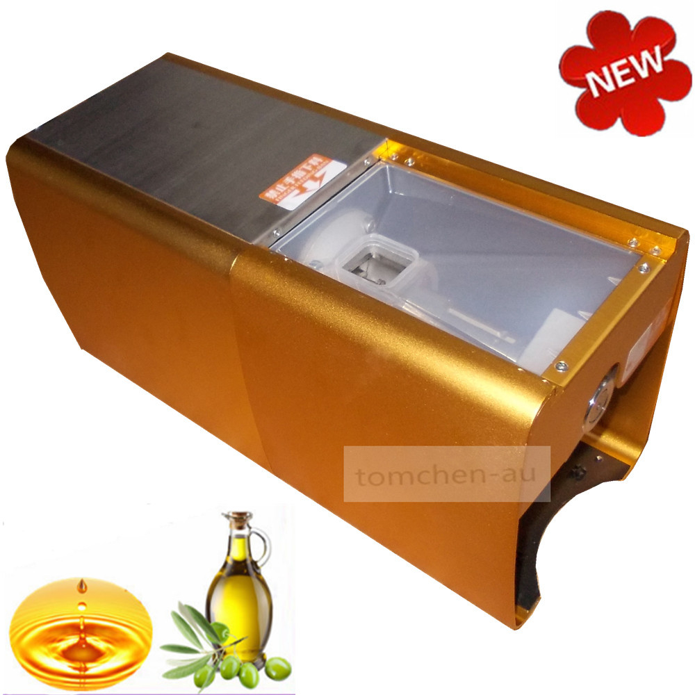 Stainless steel automatic small seed oil extraction machine, cold oil press, oil expeller, mini oil press machine for home