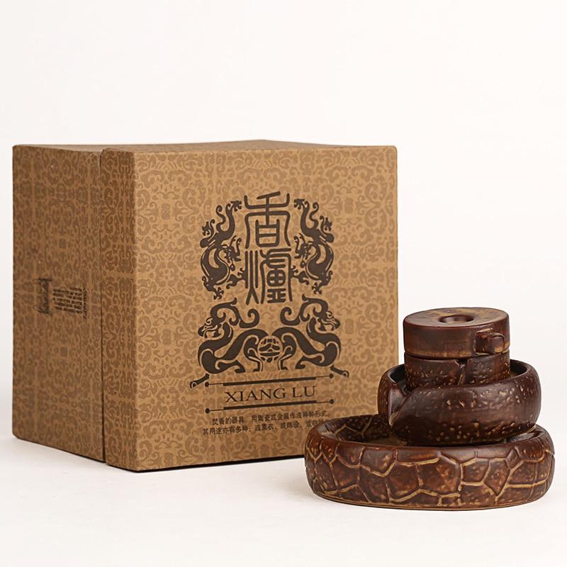 Creativo posteriore cade incenso legno di sandalo incenso disco di pietra Ogni cane ha il suo giorno utensili per il tè. - 5