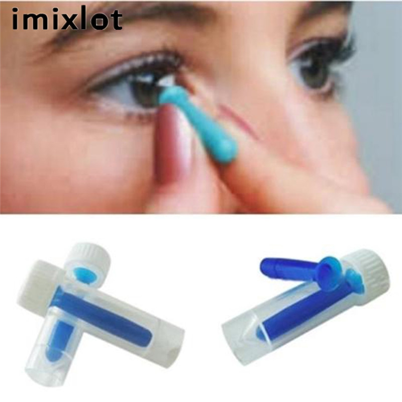 IMIXLOT New Contact Lens Suction Holder Inserter Removal Hard Soft Lenses  Preservation of Eyesight