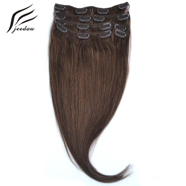 Jeedou Synthetic Hair 15 38cm 70g Clip In Hair Extensions 7pcsset