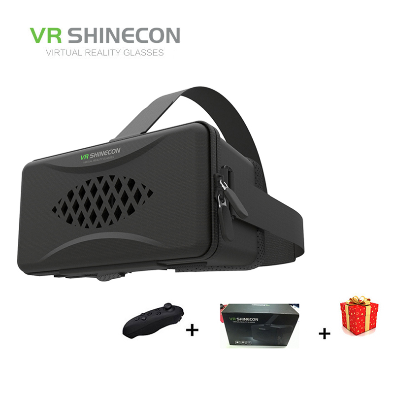 Shinecon Y003 Casque VR Box Virtual Reality Glasses 3 D 3d Goggles Headset Helmet For Smartphone Smart Phone Google Cardboard