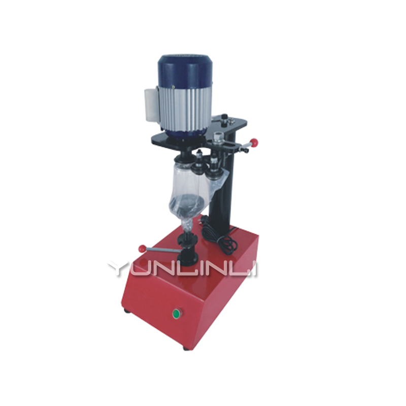 Manual Cans Sealing Machine 10~20pcs/mins Ring-Pull Can Circular Canned Food Beer Capping Machine Tin Seamer LT-200