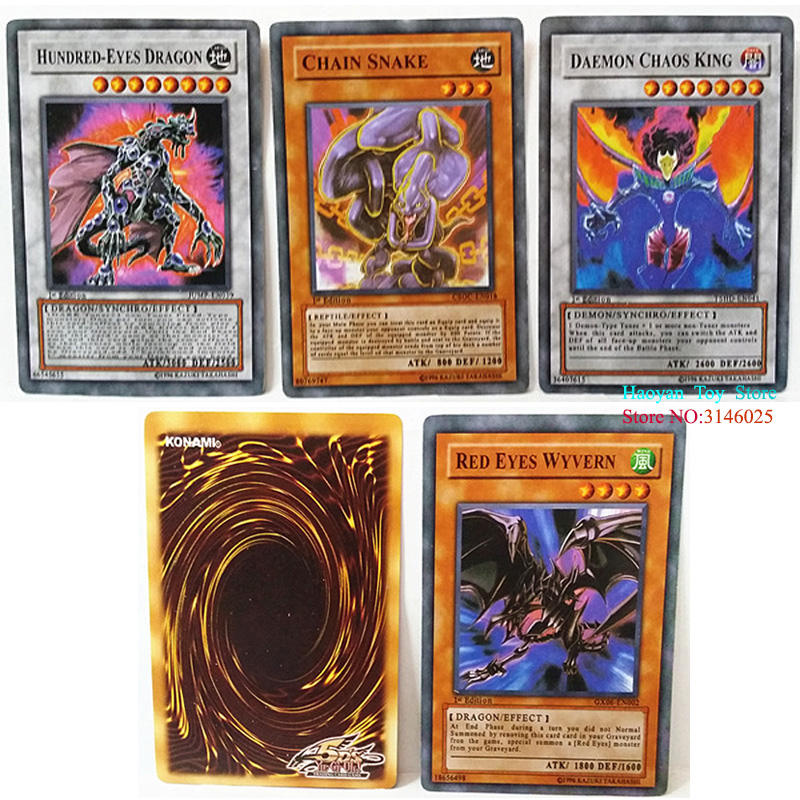 288pcs Anime Japan Yugioh Game Cards Cartoon Yugioh Game Cards Japan Boy Girls Yu-gi-oh Cards Collection For With Box #3