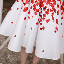 Vintage dress New Arrivals 2017 Fashion Sleeveless Summer dress Elegant Slim Printed High waist party dress Plus size vestidos
