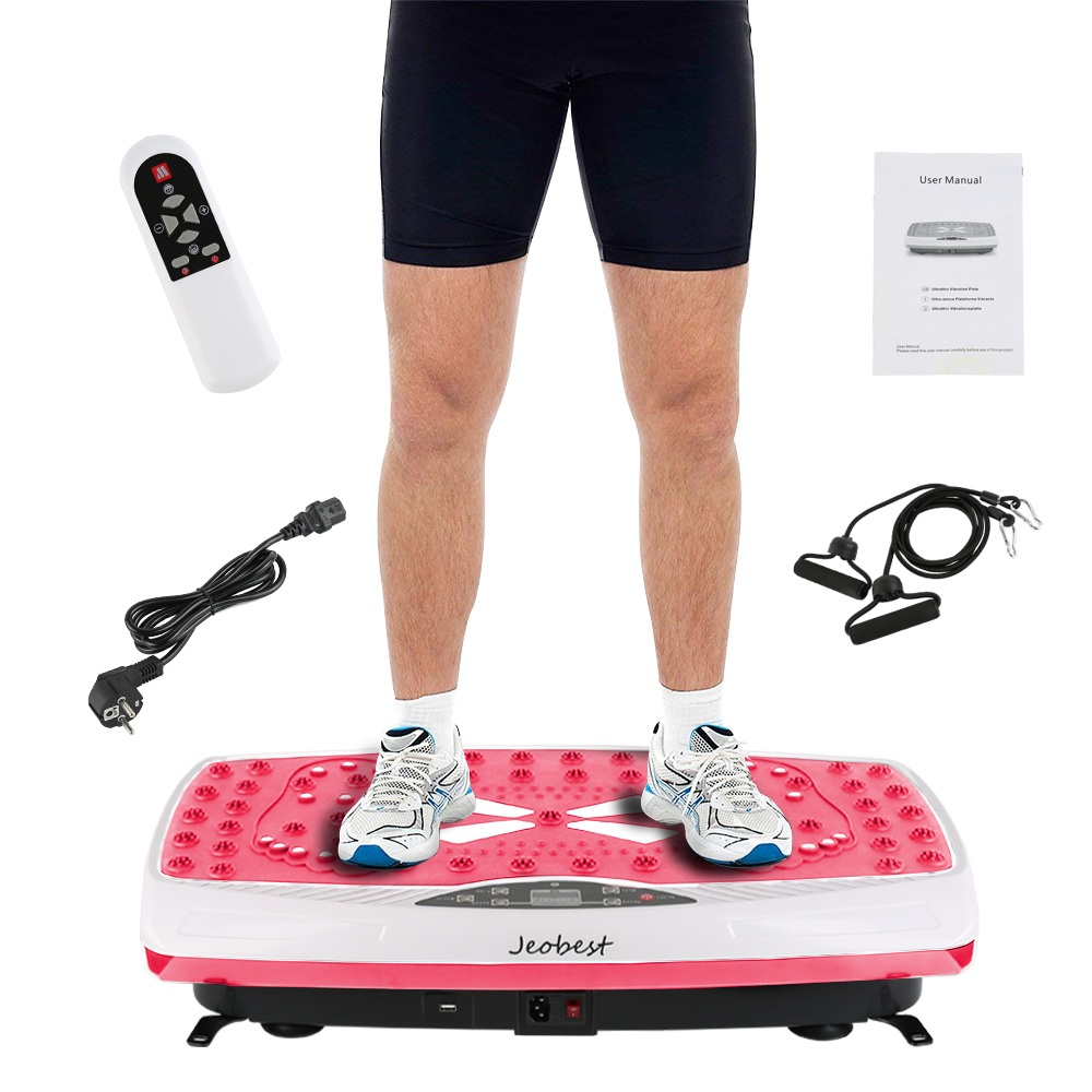 Fitness Vibration Plate Machine Whole Body Vibration Platform Plate Fitness Machine Trainer Power Weight Loss Tool Kit HWC vibration of orthotropic rectangular plate