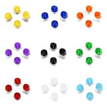 5 Sets ABXY Buttons for Xbox One Controller Replacement Custom Colour Bullet Buttons Set Mod Kit for Xbox One S/Xbox One Elite