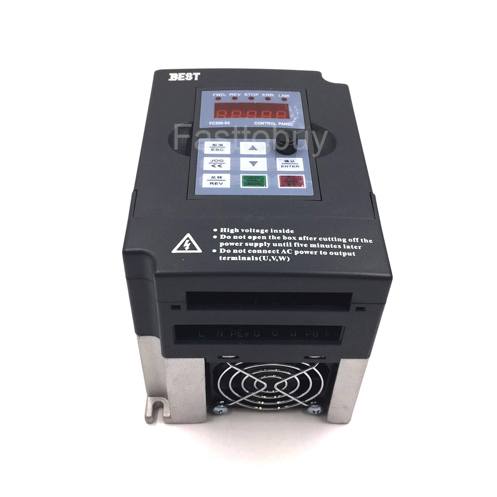 CNC Spindle Motor Speed Control 0.75KW 380V VFD Inverter Input 3HP Variable Frequency Drive 50Hz VFD for CNC Engraving Printing 220v 5 5kw vfd variable frequency drive vfd inverter 3hp input 3hp output cnc spindle motor driver spindle motor speed control