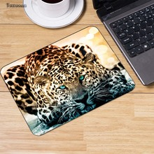 Yuzuoan Leopard  Lion Dolphin Animal Gaming Rubber Mouse pad Notebook keyboard Mousepad mat Speed Version For  LOL dota2 Office