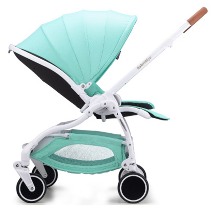 High landscape baby stroller can sit can lie four wheels shock folding lightweight baby pram russia free shipping pouch four wheels travel baby stroller high landscape portable can sit lie lightweight summer folding baby carriage pram 0 3 y