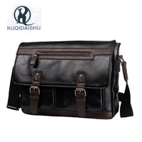 2017 New PU Leather Bag Business Men Bags Tote Briefcases Crossbody Bags School Shoulder Handbag Men's Travel Messenger Bag
