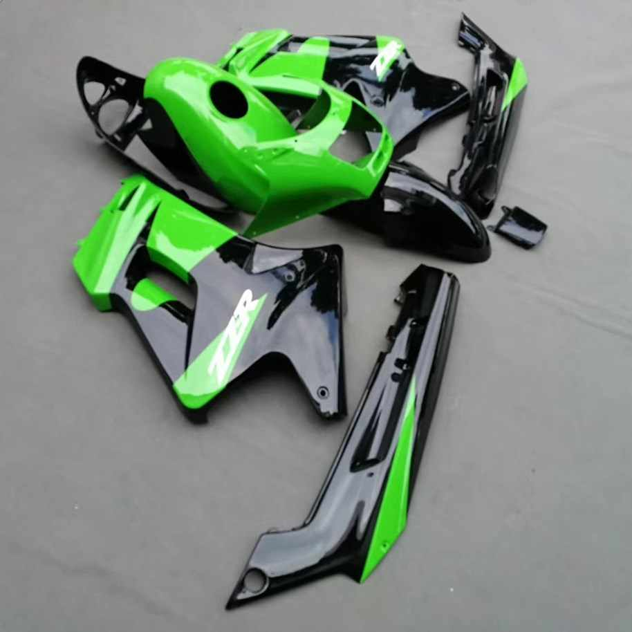 Motorcycle ABS Fairing For Kawasaki ZZR250 ZZR 250 ZZ-R250 2007 - 2009 2009 07 08 09 Fairings Kit Bodywork Green UV Painted
