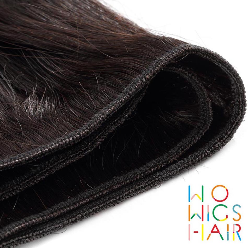 WoWigs Hair Loose Wave Malaysian Remy Hair 100 Human Hair Weaving 1 3 4 PCS Free Shipping Natural Color in Hair Weaves from Hair Extensions Wigs