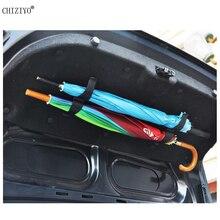 CHIZIYO 1 пара Универсальный Автомобильный задний багажник Монтажный кронштейн держатель зонта Органайзер крепеж с винтами аксессуары для автомобиля