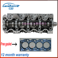 complete cylinder head assembly  for Toyota Corona Camry Carina II 8V 1975cc 2.0 D 89   engine : 2C 2CT 11101 64121 11101 64122|complete cylinder head|2.0 engine|engine for toyota -