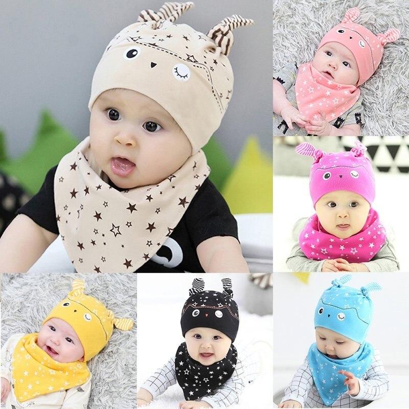 Fashion Cute Baby Sleep Hat