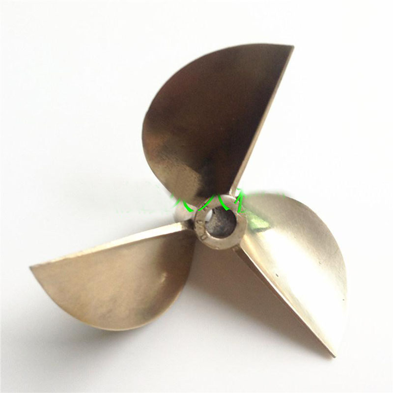 1PC Three-blade 7016 Propeller 70mm Diameter Copper Propellers 6.35mm Hole Pitch Props/Paddle for DIY RC Boats Accessories